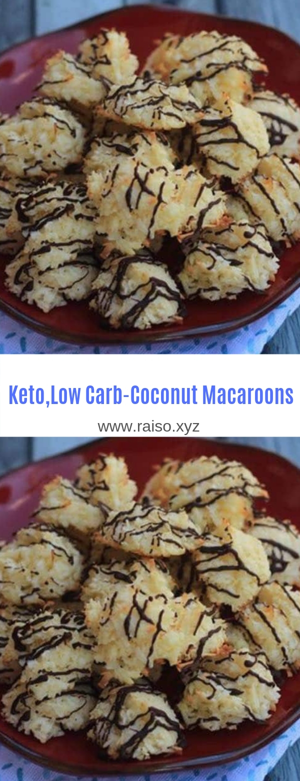 Keto,Low Carb Coconut Macaroons