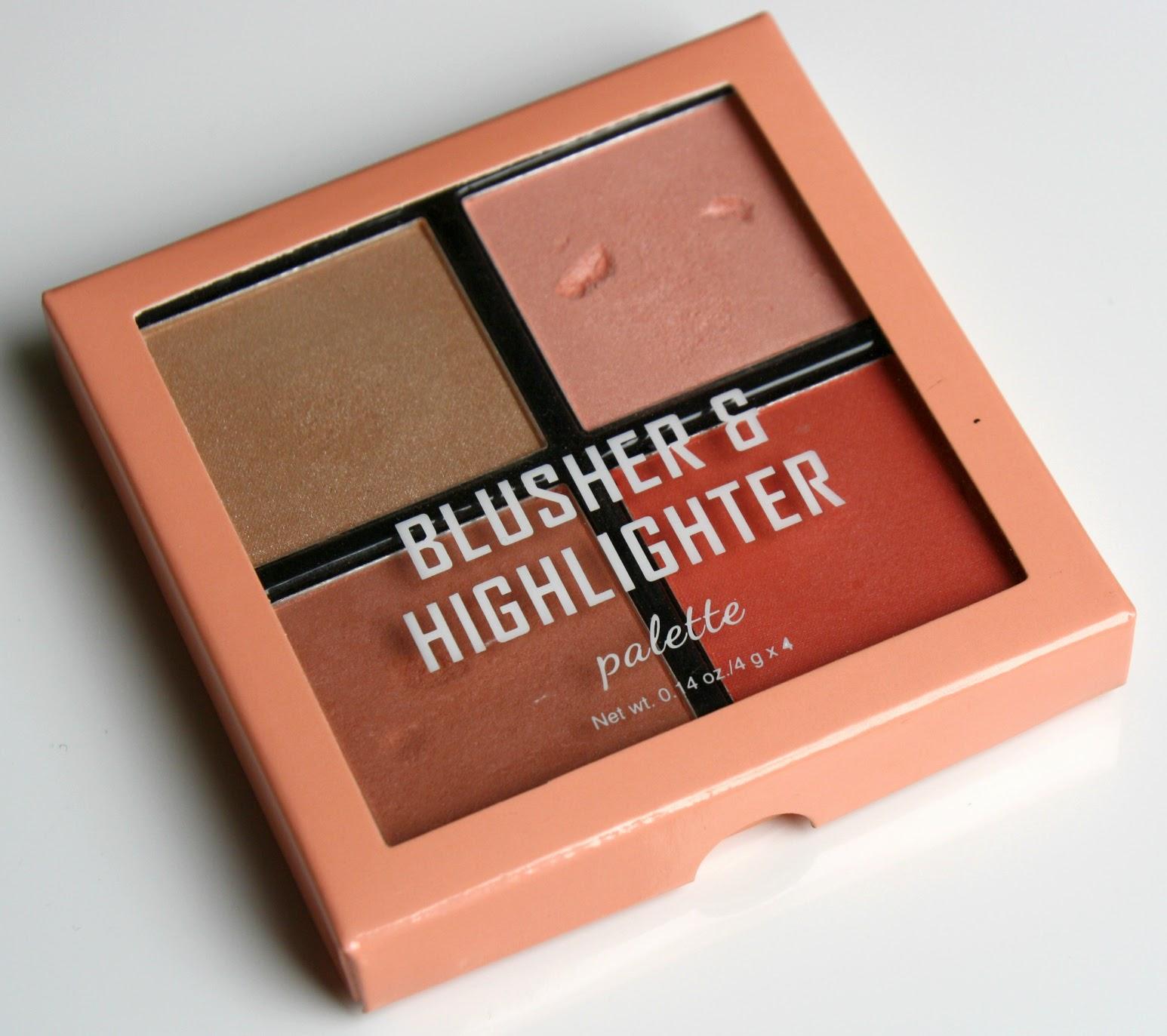 c1978c19f674 Koala Baby Beauty  H M Blusher   Highlighter Palette