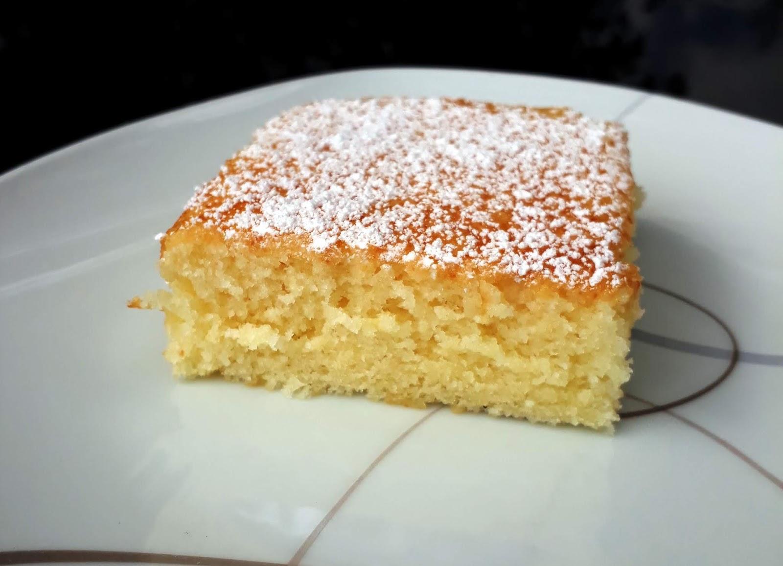 Sanna S Hexenkuche Vanillekuchen Vom Blech Sehr Saftig Und Weich