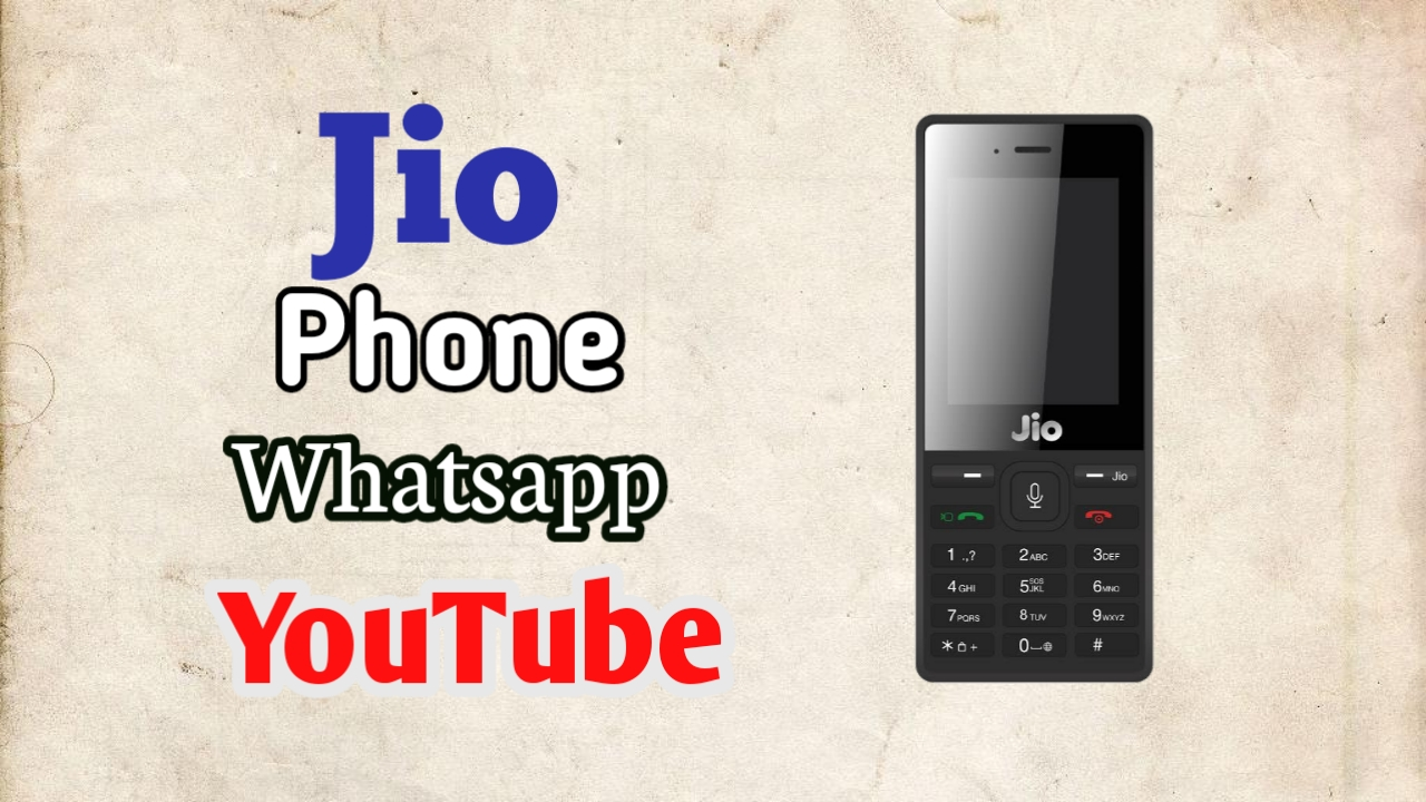 Jio Phone 1 gets Whatsapp Update - igyantech - All About