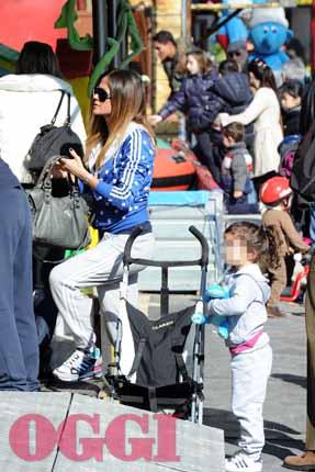 Al Sofia Sempione Parco Figlia Con Palmas Giorgia La Foto Celeb68 ztUqx