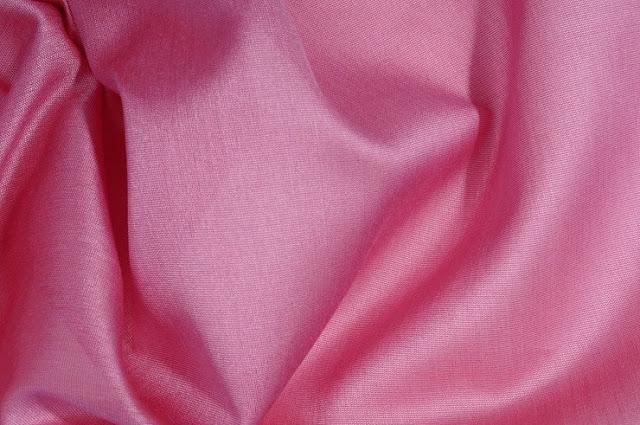 Cashmere Rose Cotton Silk Fabric