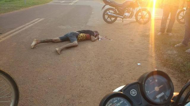 Presidiário em regime semi-aberto é morto em frente à Unidade Prisional (UP4)