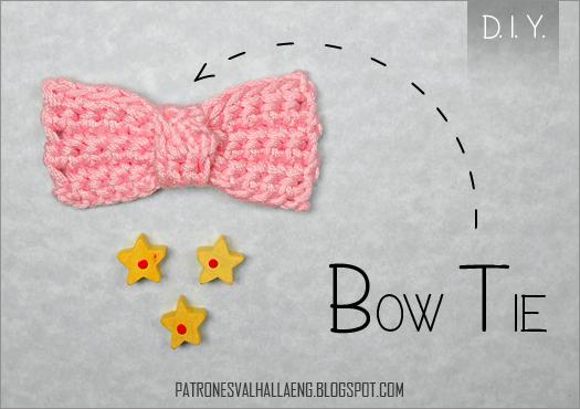 Crochet Bow Tie Patrones Valhalla Free Crochet Patterns