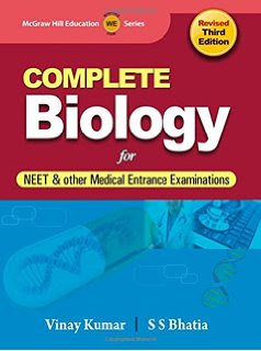 Download Free Tata McGraw Hill Complete Biology for Medical Entrance Examination Book PDF