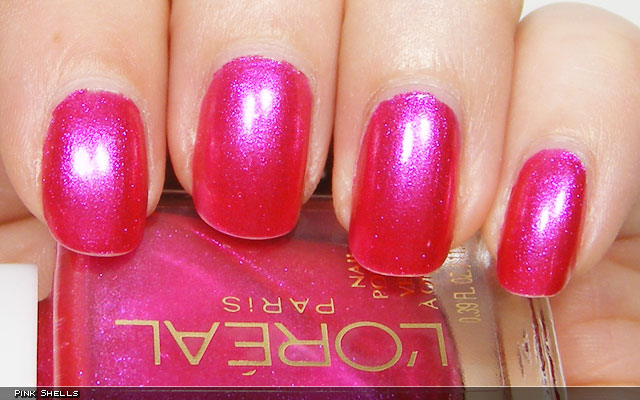 xoxoJen's swatch of Pink Shells from Loreal