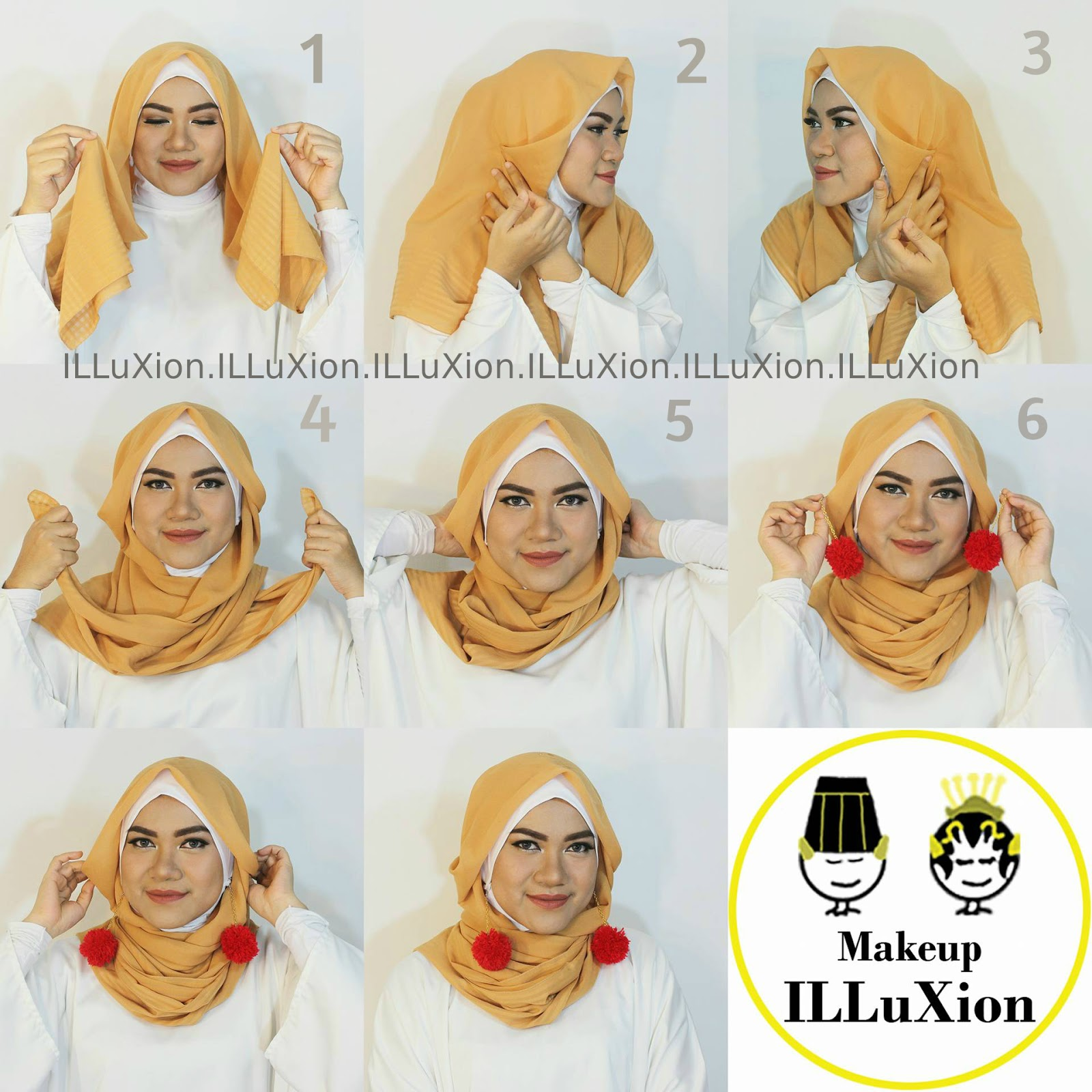TIPS AND TRICK By Dwitia Sastrowijoyo HIJAB POMPOM