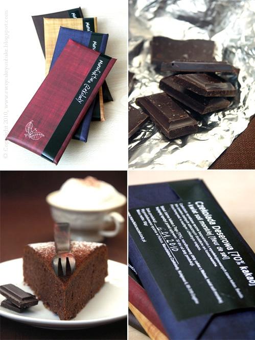 delicja czekoladowa - ciasto czekoladowe bez mąki