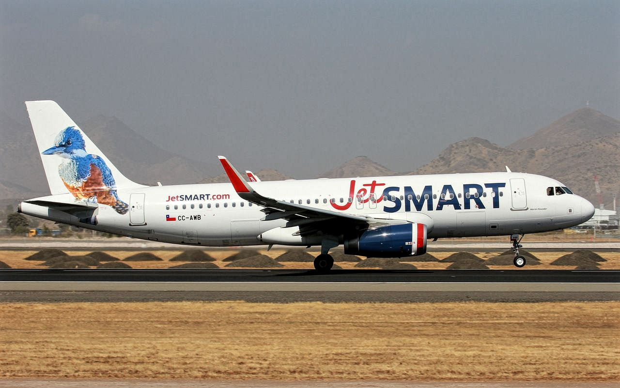 Airbus A320-200 Jet Smart October 2018 Delivery