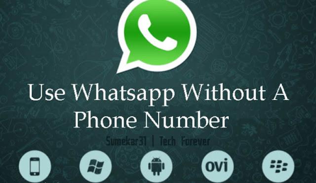 Menggunakan WA Tanpa Nomor Telepon