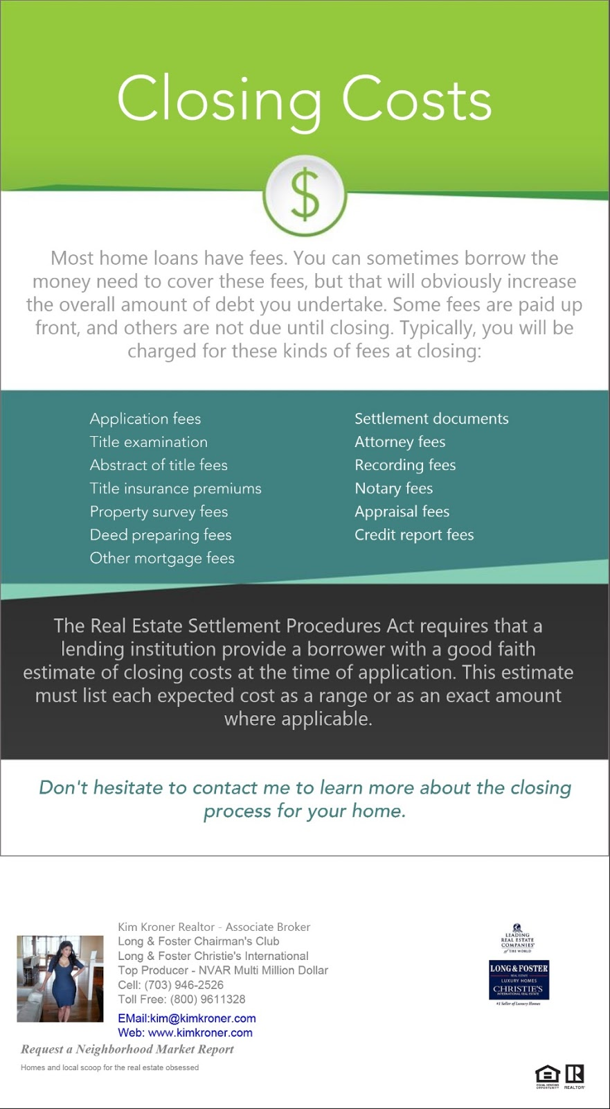 Real estate transaction closing costs for Can you get a mortgage on land