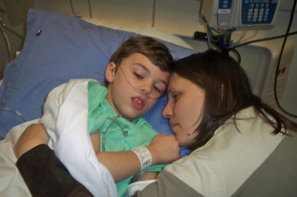Caleb at Vanderbilt Childrens