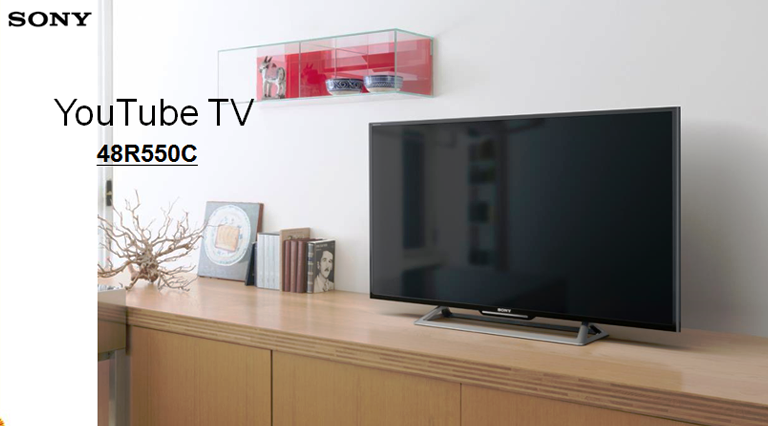 Harga TV LED Sony KDL48R550C Full HD with Youtube