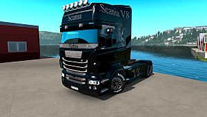 Ghost paint job for Scania RJL