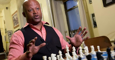 Maurice Ashley, first African American Chess Grandmaster