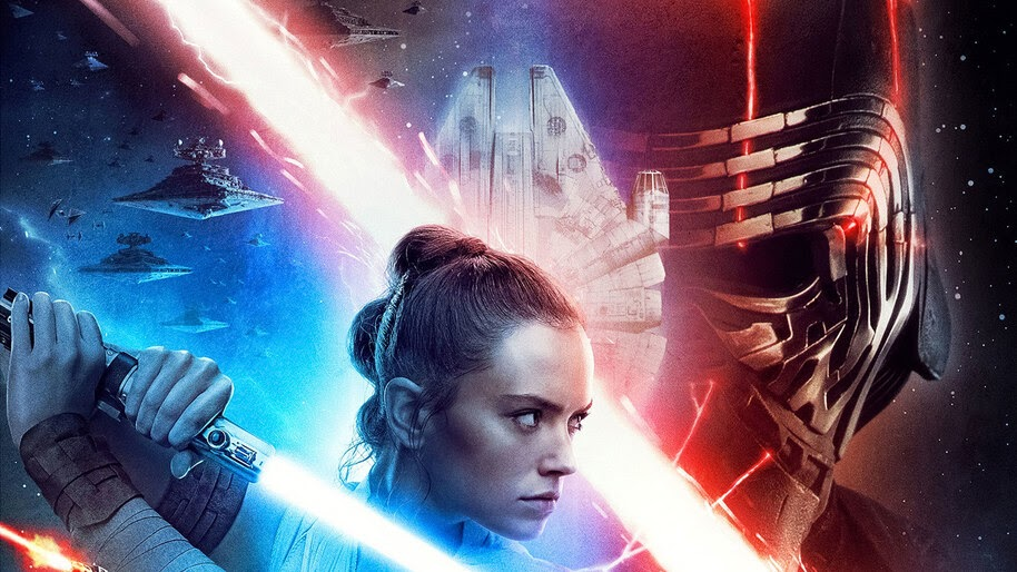 Star Wars The Rise Of Skywalker Movie Poster Kylo Ren Rey 4k Wallpaper 3 1320