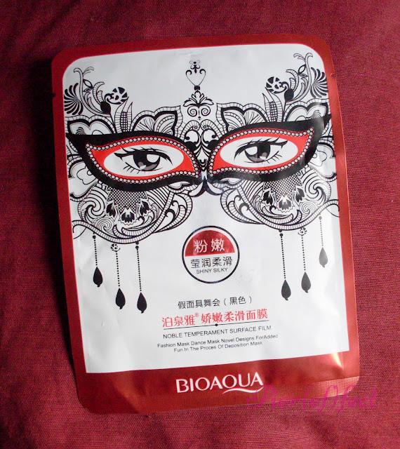 Bioaqua sheet mask maschera in tessuto