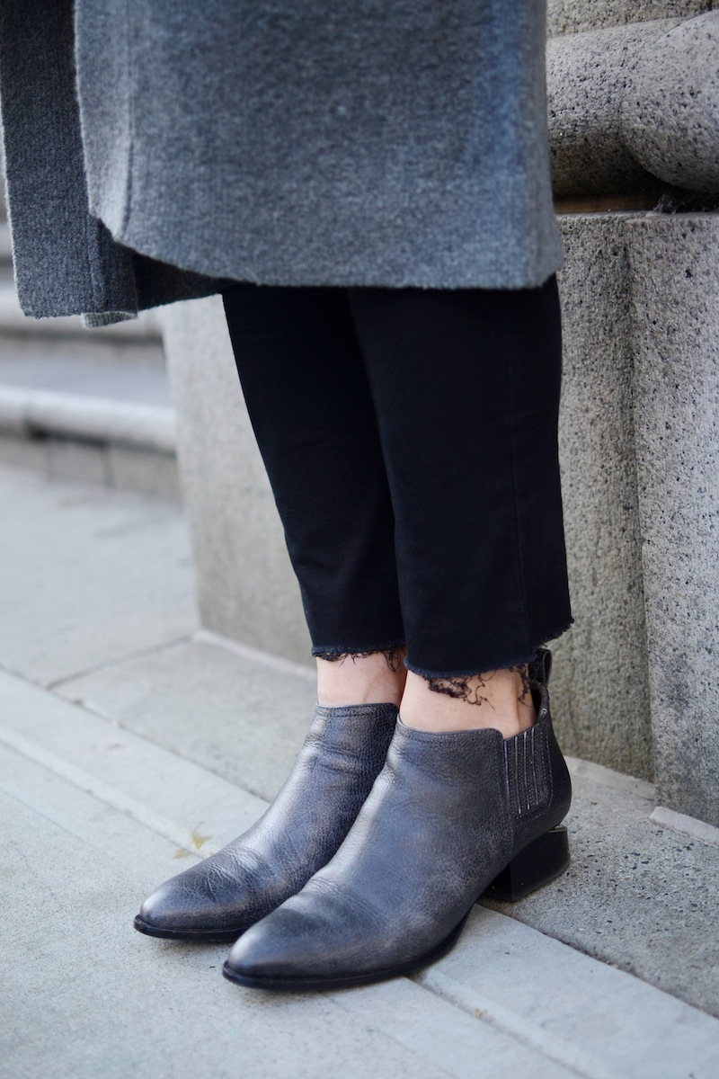 Alexander Wang Kori boots grey Vancouver fashion blogger winter outfit idea