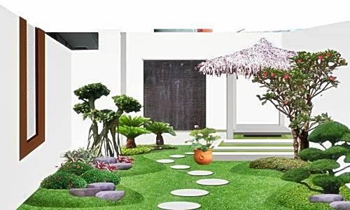 Desain Taman Rumah Minimalis Terbaru 2015