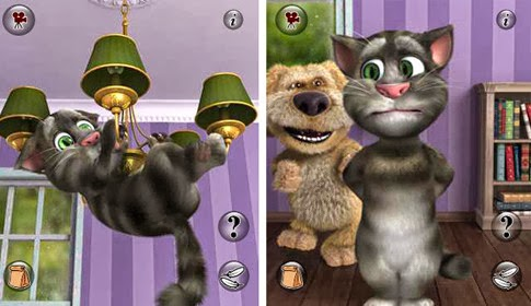 لعبة مخاطبة القط توم  Talking Tom Cat 2 اون لاين