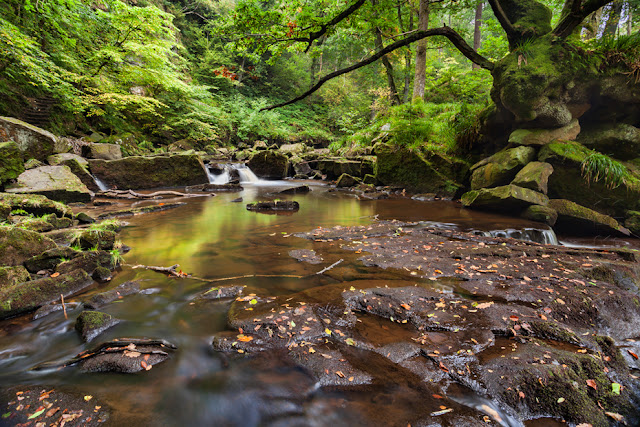 West beck image at Goathland near Mallyan Spout by Martyn Ferry Photography