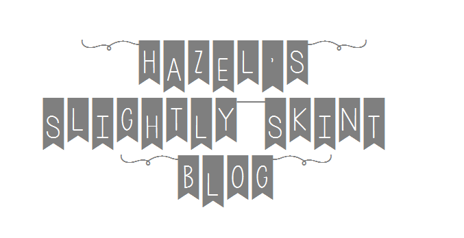 Hazel's Slightly Skint Blog
