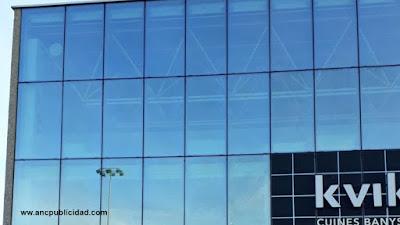 rotulación de fachada con vinilo