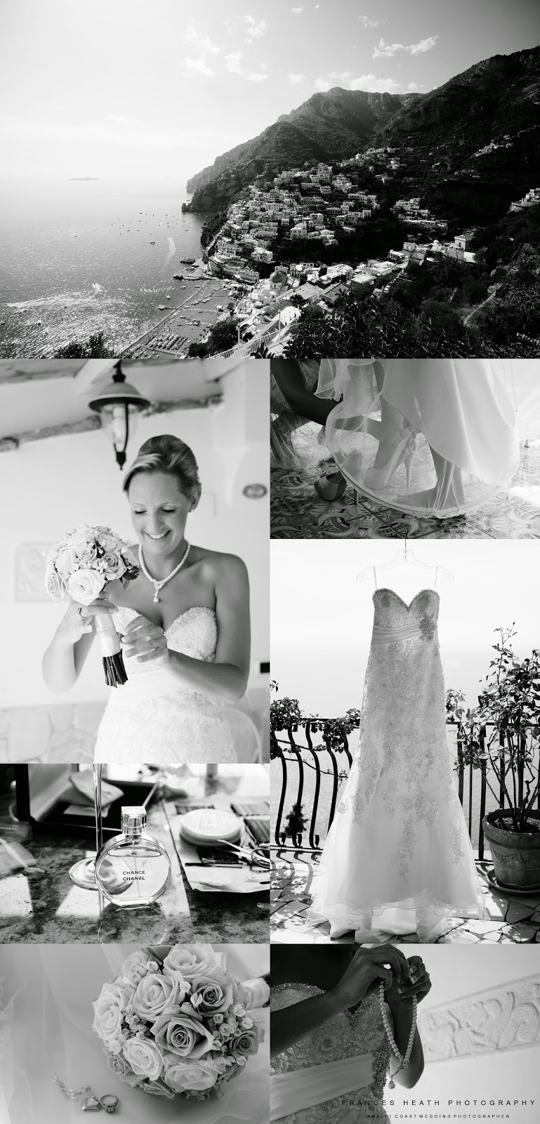 Elegant wedding at Villa Oliviero in Positano