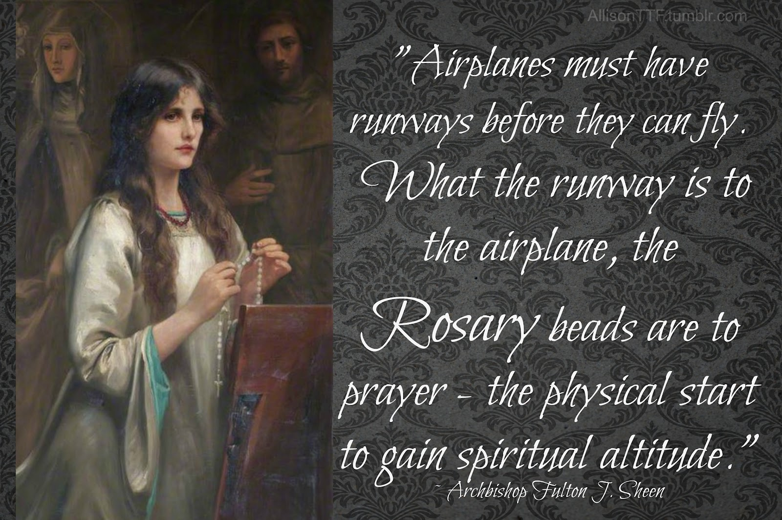 Rosary Like A Runway - Totus Tuus Family & Catholic Homeschool