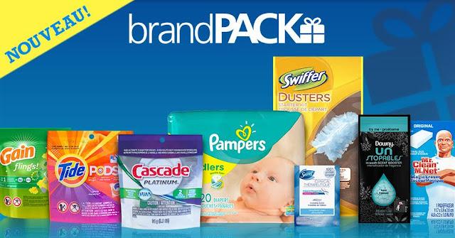 #MamanPG - P&G a lancé un NOUVEL emballage brandPACK!