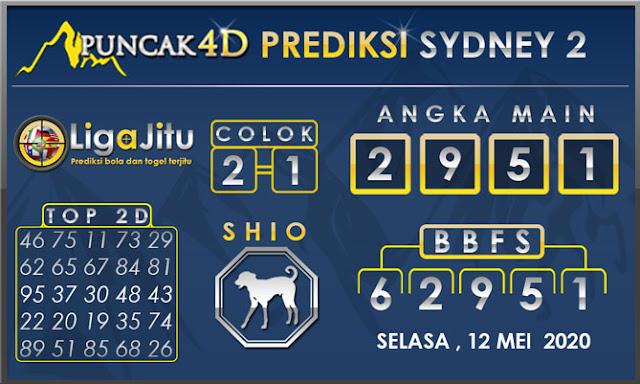 PREDIKSI TOGEL SYDNEY2 PUNCAK4D 12 MEI 2020
