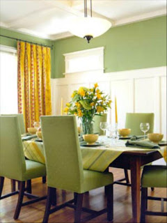 ruang+makan+hijau Desain Ruang Makan Hijau Ciptakan Nuansa Alami
