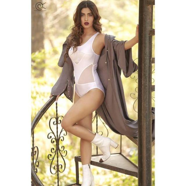 Model Karishma Sharma Spicy Bikini Photos
