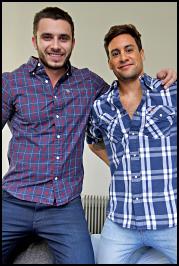 James Nowak y Matías Toledo