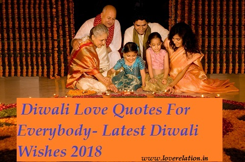 Diwali Love Quotes For Everybody