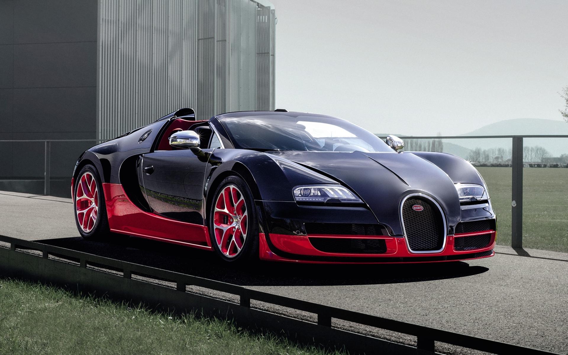 Bugatti Veyron Roadster Vitesse - New Car Modification