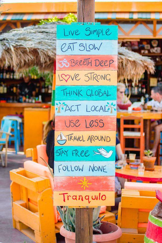 Tranquillo Beach Bar in Perissa, Santorini - Ioanna's Notebook