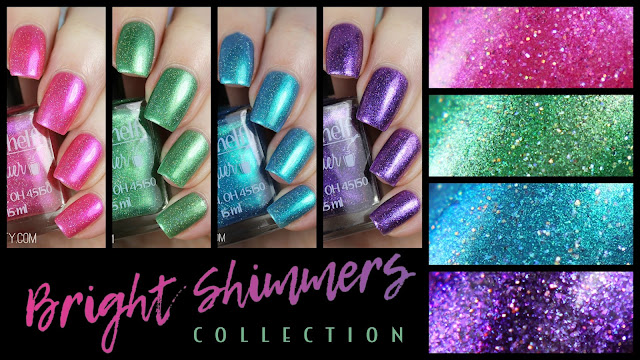 Top Shelf Lacquer Bright Shimmers Collection
