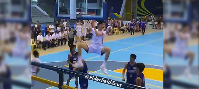 Kai Sotto's NASTY Off The Backboard Alley-Oop Slam (VIDEO)