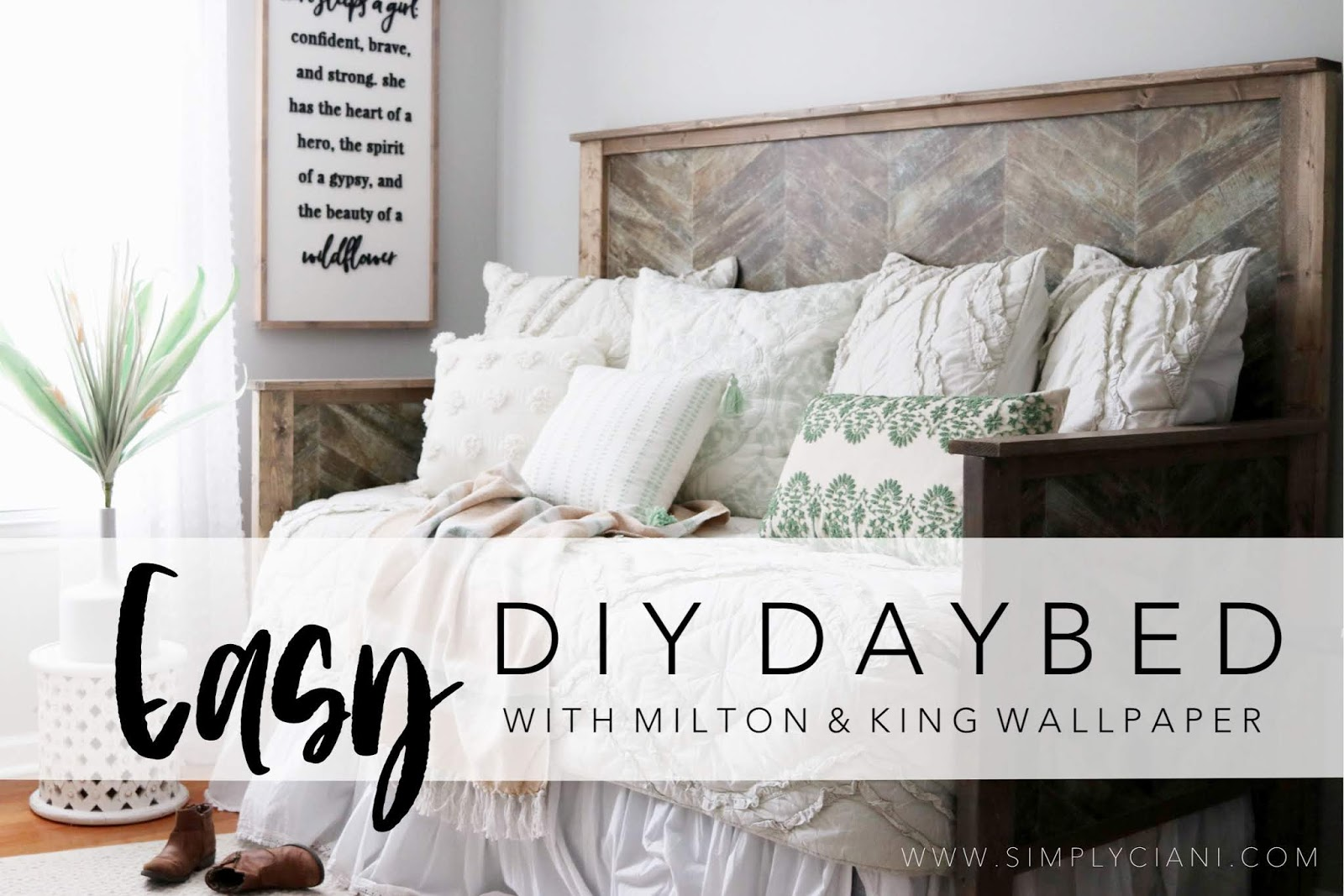 - How To Build A Faux Daybed Simply Ciani