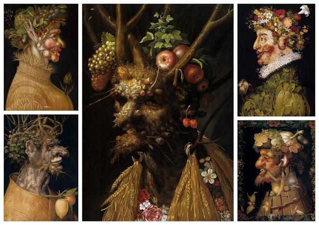 Giuseppe Arcimboldo collage