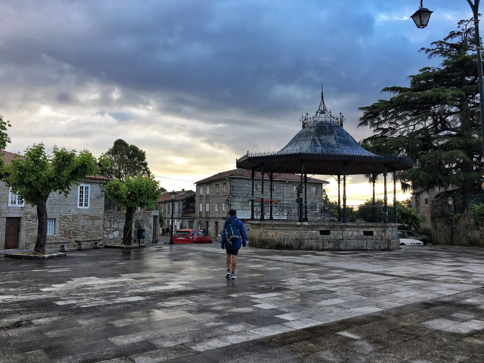 El Camino, Santiago de Compostela, poutník