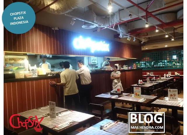 Atmosphere di Chopstix Plaza Indonesia - Blog Mas Hendra