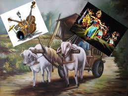 Lukisan, Musik, Tari