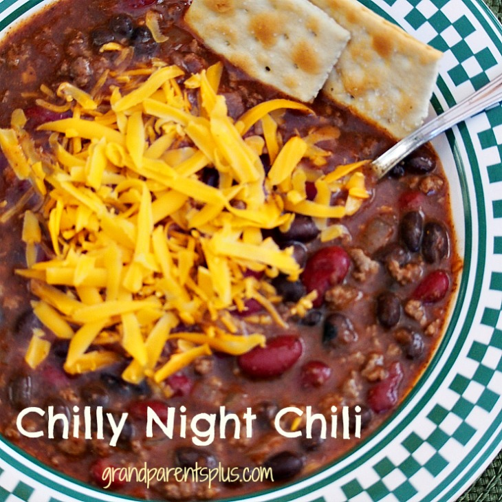 Homemade Chili- Chili Recipe- Grandparents Plus-Treasure Hunt Thursday -From My Front Porch To Yours