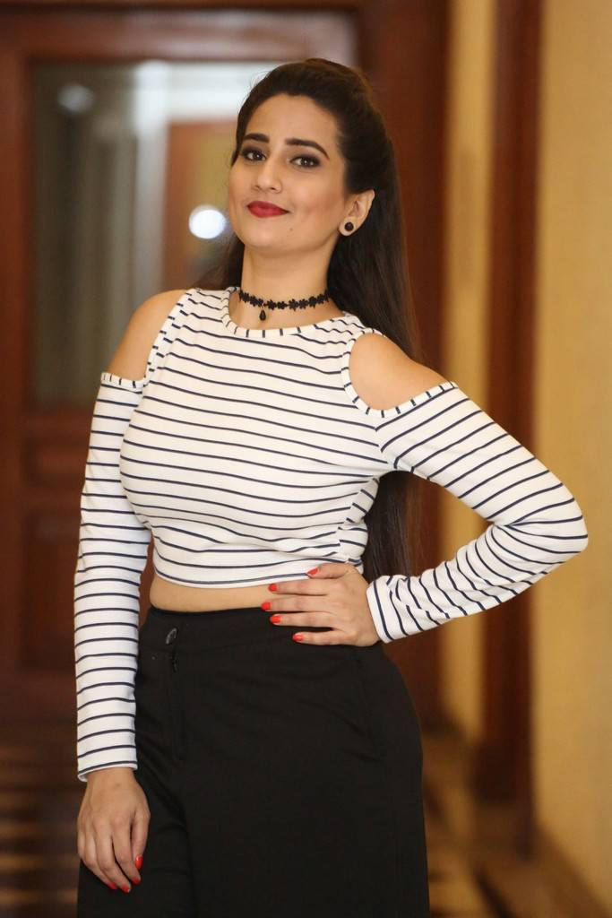 Manjusha At Darshakudu Pre Release Function Event Gallery
