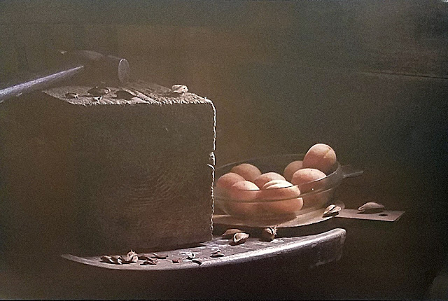 """межрегиональная выставка фотонатюрморта """"Весь мир - театр. Внимание на экспериментальную сцену!"""":   Александр Сенников - Абрикосовые косточки"""