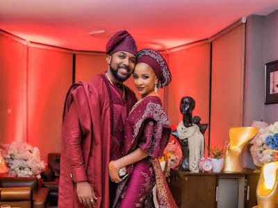 Aww! Official photos from wedding introduction of BankyW and Adesua Etomi