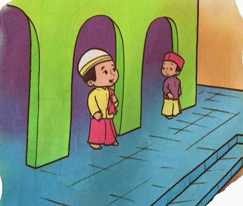 Doa Masuk Mesjid dan Keluar Mesjid