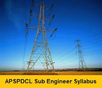 APSPDCL Sub Engineer Syllabus